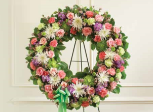 Pastel Multicolor Wreath