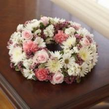 Small Pink & White Urn Arrangement