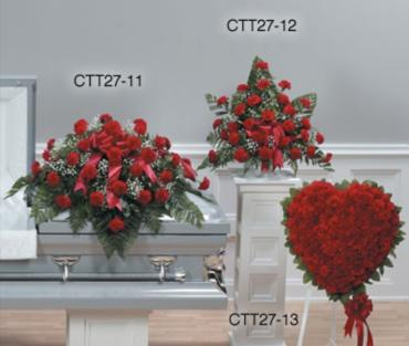 FUNERAL PACKAGE (ONLY CARNATIONS)